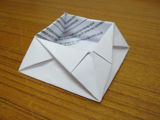 origami tray