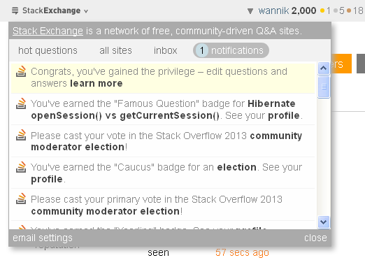 stack overflow 2000 priviledge